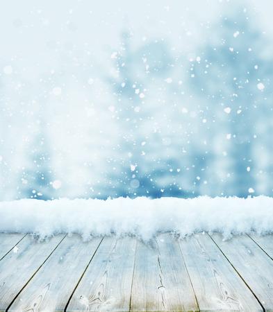 Foto de winter christmas background - Imagen libre de derechos