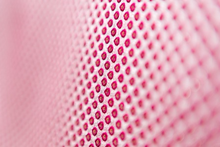 Foto de texture of the fabric, side, background of fabric in the highlight. lilac color - Imagen libre de derechos