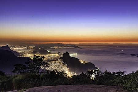 Photo pour The last star in Rio de Janeiro - image libre de droit