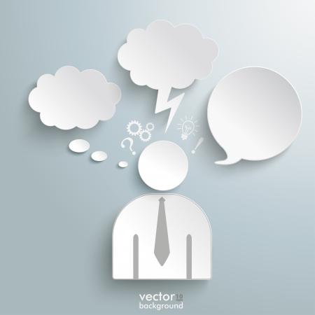 Illustration pour Infographic design on the grey background. Eps 10 vector file. - image libre de droit