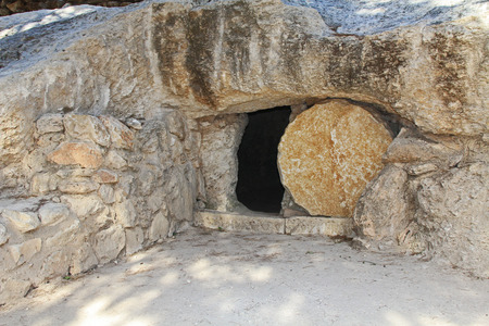 Photo for Replica of the tomb of Jesus in Israel - Royalty Free Image