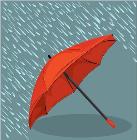 in the rain umbrella