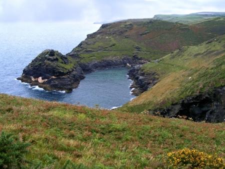 Coast of Cornwall near Boscastle