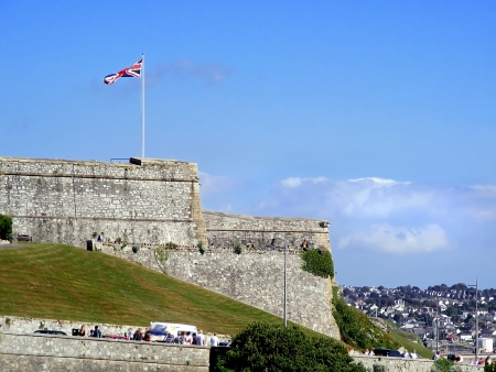 Old Barbican in Plymouth-naval base.
