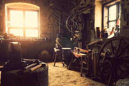 Photo for Old workshop - Royalty Free Image