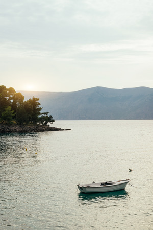 Photo for Boat on the sea, Croatia - Royalty Free Image