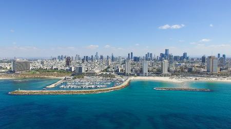 Foto de Tel Aviv skyline - Imagen libre de derechos