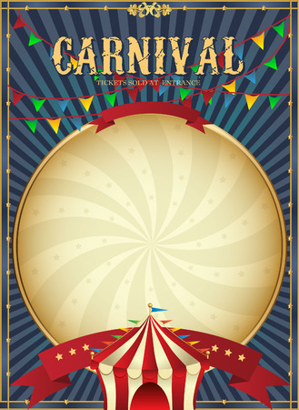 Illustration pour Golden Mardi Gras design element. Carnival background. Two carnival crowns. - image libre de droit