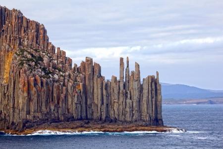 Foto de Dramatic Tasmanian Coastline, Australia - Imagen libre de derechos