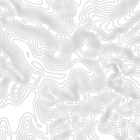 Illustration pour Topographic map background. Grid map. Contour. Vector illustration. - image libre de droit