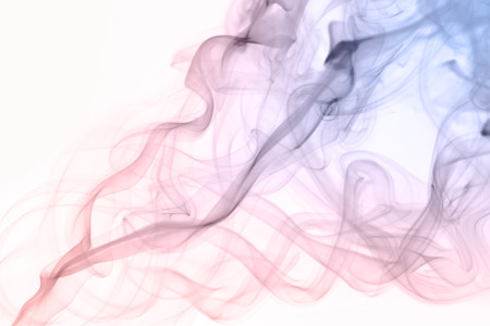 Photo for blue smoke on black background - Royalty Free Image