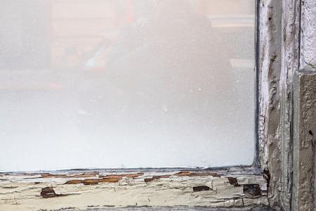 Foto de Old window frame - Imagen libre de derechos