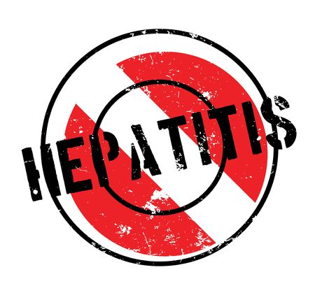 Foto de Hepatitis rubber stamp - Imagen libre de derechos