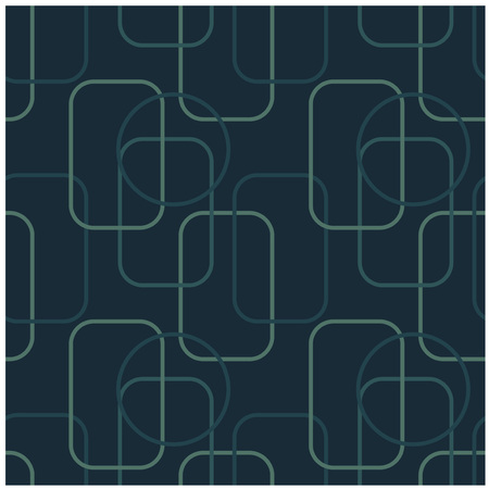 Ilustración de Lines geometric shapes seamless pattern. Design for print, fabric, textile. Seamless wallpaper - Imagen libre de derechos