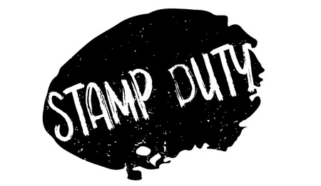 Illustration pour Stamp Duty rubber stamp. Grunge design with dust scratches. Effects can be easily removed for a clean, crisp look. Color is easily changed. - image libre de droit