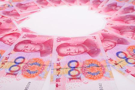 Photo pour The renminbi - image libre de droit