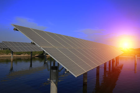 Foto de Solar panels - Imagen libre de derechos