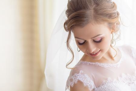 Foto de bridal makeup wedding ceremony groom - Imagen libre de derechos
