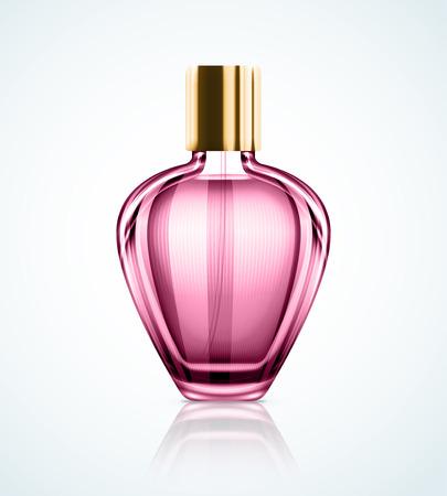 Ilustración de Isolated perfume bottle  - Imagen libre de derechos