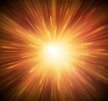 Ilustración de Background with explosion - Imagen libre de derechos