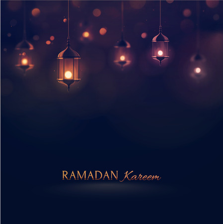 Illustration pour Ramadan Kareem, greeting background  - image libre de droit