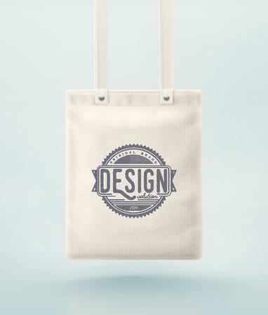 Illustration pour Tote bag for design, - image libre de droit