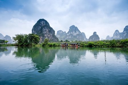 Photo for Rural scenery in Guangxi - Royalty Free Image
