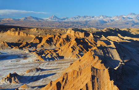 Photo pour Moon valley in Atacama desert - image libre de droit