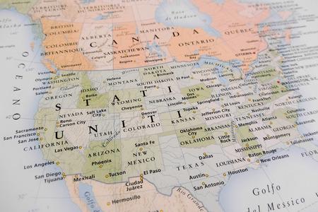 Photo pour United States map - image libre de droit