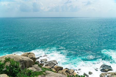 Foto de Sanya Wuzhizhou Island scenery - Imagen libre de derechos