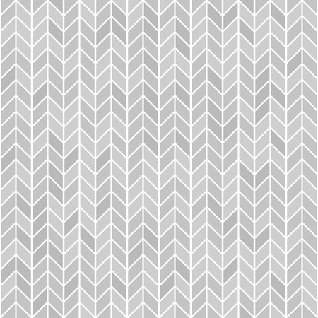 Illustration for Gray herringone pattern. Seamless vector parquet background - grey polygons on white backdrop - Royalty Free Image