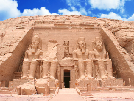 Photo for The Great Temple at Abu Simbel, Egypt - Royalty Free Image