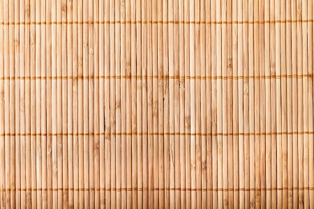 Photo for bamboo mat - Royalty Free Image
