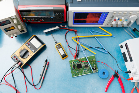Photo pour electronic measuring instruments - image libre de droit