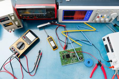 Foto de electronic measuring instruments - Imagen libre de derechos