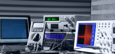 Photo for electronic measuring instruments - Royalty Free Image