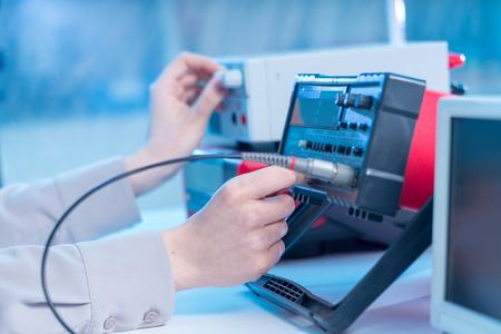 Photo pour The use of measurement in the electronics laboratory - image libre de droit