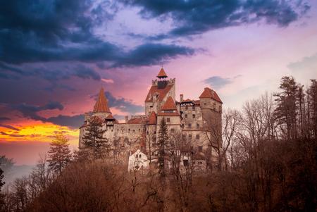 Foto per Bran Castle, Transylvania, Romania, known as - Immagine Royalty Free