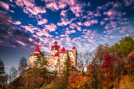 Photo for Bran Castle, Transylvania, Romania. A medieval building known as Castle of Dracula. - Royalty Free Image