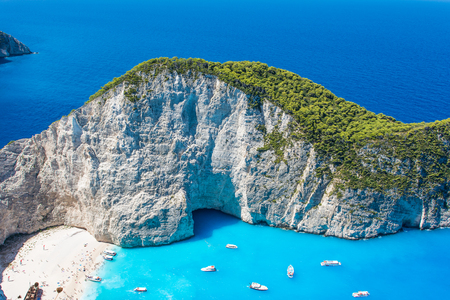 Photo for Beautiful view of Navagio Beach in Zakynthos, Greece - Royalty Free Image