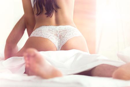 Photo pour  Couple having sex - image libre de droit