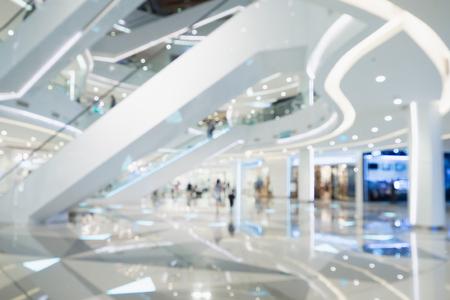 Foto de blur of  department store with bokeh for background - Imagen libre de derechos