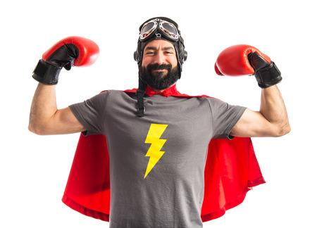 Foto de Strong super hero - Imagen libre de derechos
