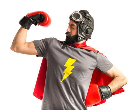 Photo pour Strong super hero - image libre de droit