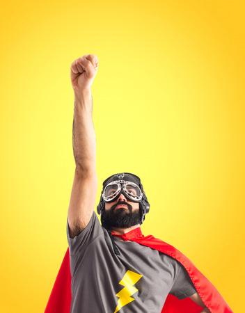 Foto per Superhero doing fly gesture - Immagine Royalty Free