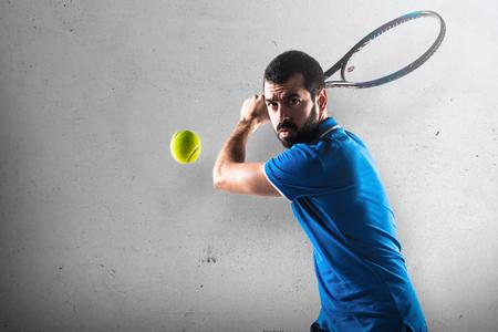 Photo pour Tennis player - image libre de droit