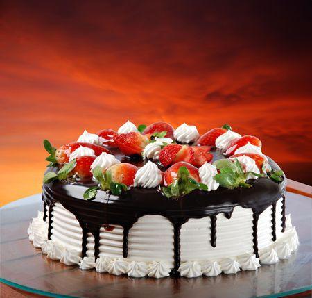 Photo pour Strawberry Shortcake - image libre de droit