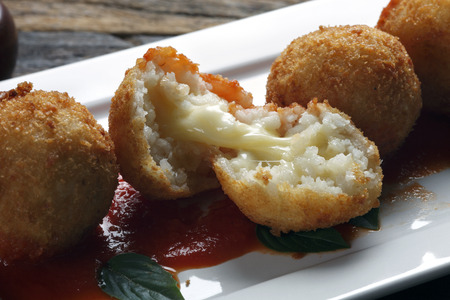 Photo for Rice balls - Royalty Free Image