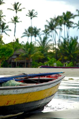 Photo for Jericoacoara is a virgin beach hidden behind the dunes of the west coast of Jijoca de Jericoacoara, Ceará, Brazil - Royalty Free Image