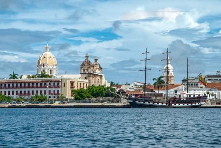 Foto de View of Cartagena de Indias, Colombia - Imagen libre de derechos